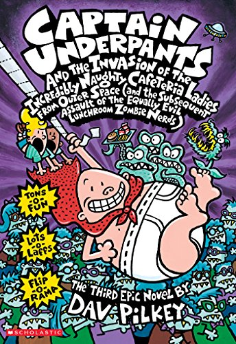 Captain Underpants and the Invasion of the Incredibly Naughty Cafeteria Ladies from Outer Space (Captain Underpants #3) (Captain Space compare prices)