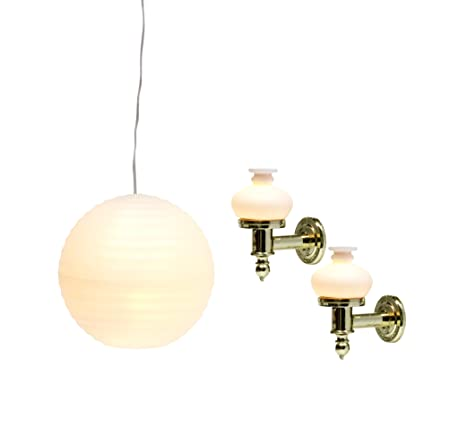 Lundby - L606032 - Maison de Poupée - Kit Globe + Appliques - Smaland