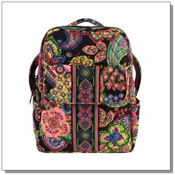 Vera Bradley Backpack Purse in Symphony in Hue