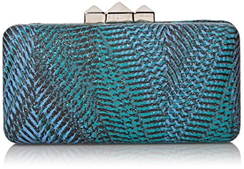 la-regale-printed-faux-leather-minaudiere-evening-bag-blue-one-size