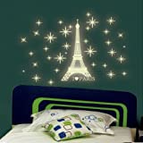 Iuhan Fashion A Set Kids Bedroom Fluorescent Glow In The Dark Stars Wall Stickers