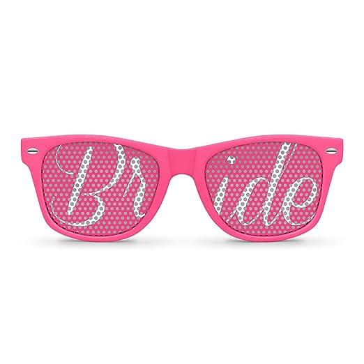BRIDE pink Party Wayfarer Sunglasses