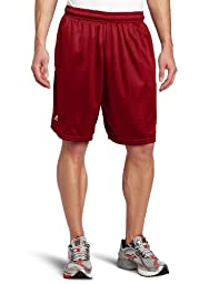 Russell Athletic Men\'s Mesh Pocket Short, Cardinal, Large