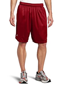 Russell Athletic Men's Mesh Pocket Short, Cardinal, XXX-Large