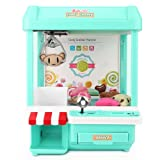 Toyk Kids Mini Candy Claw Machine Toys indoor Arcade Game and Prizes for Boys and Girls with Music Sounds Coin Dolls