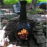 Chiminea-Outdoor-Fireplace-Blue-Rooster-ALCH014-CH-Dragonfly-Chiminea-Outdoor-Fireplace-Charcoal