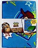"""Disney Toy Story 30"""" X 45"""" Toddler Blanket & 9"""" X 12"""" Keepsake Storage Bpx"""