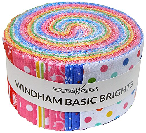 Windham BASIC BRIGHTS Jelly Roll Precut 2.5