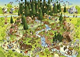 Heye Heye 29638 Puzzle Classique Black Forest Habitat 1000 Pièces
