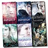 Julie Kagawa The Iron Fey Series Julie Kagawa Collection 6 Books Set (The Lost Traitor, The Lost Prince, The Iron Knight, The Iron King, The Iron Daughter, The Iron Queen)
