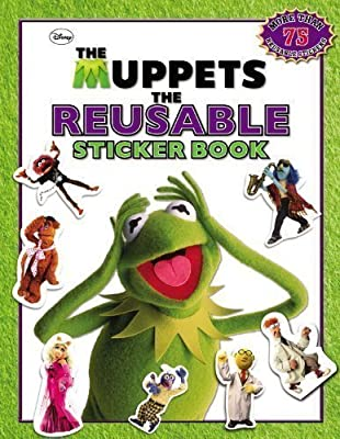 The Muppets: The Reusable Sticker Book (Muppets Movie Tie-In) by Disney (2011)