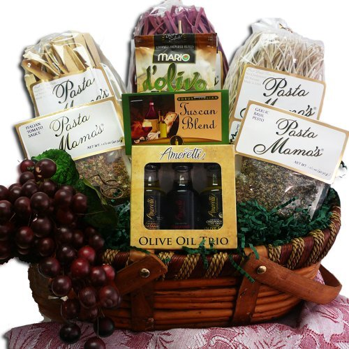 Art of Appreciation Gift Baskets Mama Mia Grand Italian Pasta Feast Gourmet Food Gift Basket by Art of Appreciation Gift Baskets (Grand Gourmet Pasta compare prices)