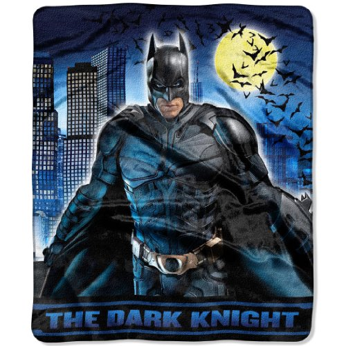 50-Inch-by-60-Inch Micro-Raschel Blanket by The Northwest Company at Gotham City Store