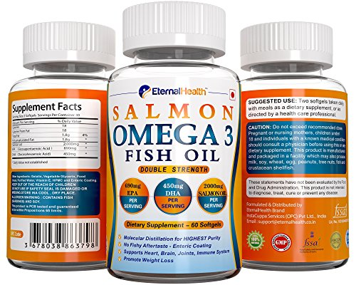Buy amway nutrilite salmon omega 3 60 softgels on amazon for Fish oil pills for weight loss