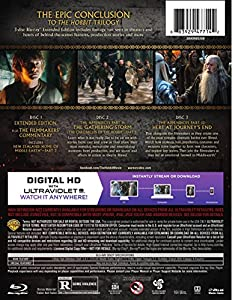 The Hobbit: The Battle of Five Armies Extended Edition (BD) [Blu-ray] from New Line Home Video