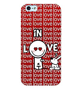 printtech In Love Back Case Cover for Apple iPhone 6
