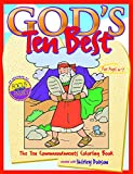 img - for God's Ten Best: The Ten Commandments Coloring Book (Coloring Books) book / textbook / text book
