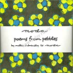 "Poems From Pebbles Moda Charm Pack By Malka Dubrawsky; 42 - 5"" Quilt Squares"