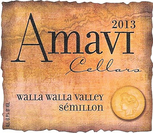 2013 Amavi Walla Walla Valley Sémillon 750 Ml