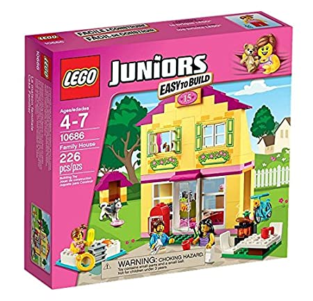 Lego Juniors - 10686 - Jeu De Construction - La Maison
