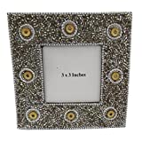 Indian Picture Frame Handmade Home Decor Table Top Decorative Photo Frame Vintage Style Antique Single Picture... - B0168KNAIO