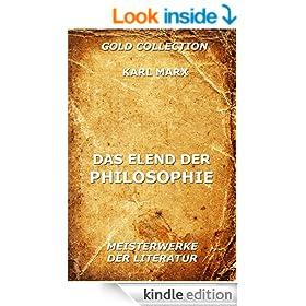 Das Elend der Philosophie (German Edition)