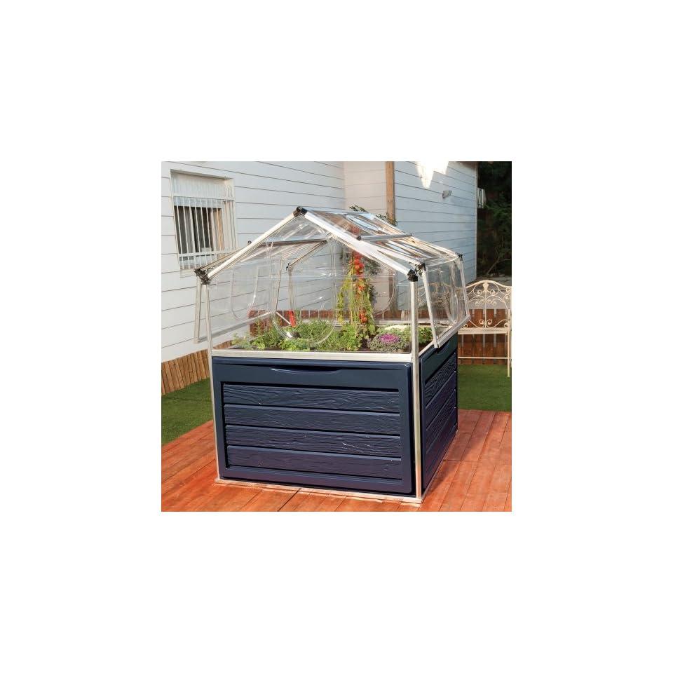Hochbeet 118x118x146cm Alu Plant Inn Garten On Popscreen