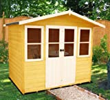 7ft x 5ft Cornell Summerhouse (12mm T&G Floor)