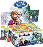 6 x Disney Frozen Bubbles - Baignoires Bubble - Sac Parti Jouets - Frozen Parties