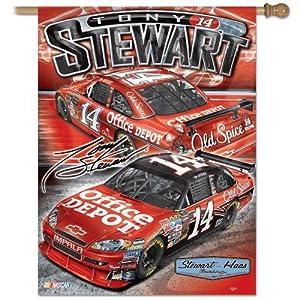Tony Stewart Banner 27 X 37 by WinCraft