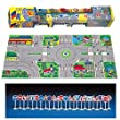 Molto 3 Dimensional 3D Non Sliping Car Parking Traffic Play Mat & Rug Roll Up with Cars & Signs for Kids Children