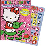 Hello Kitty 144 Page Coloring & Activity Book With Stickers.