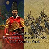 Sid Meier's Civilization V - 2 in 1 Szenario Pack: Korea und Wonders of the Ancient World DLC [PC Steam Code]