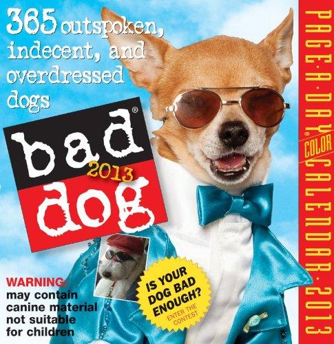 Bad Dog 2013 Page-A-Day Calendar