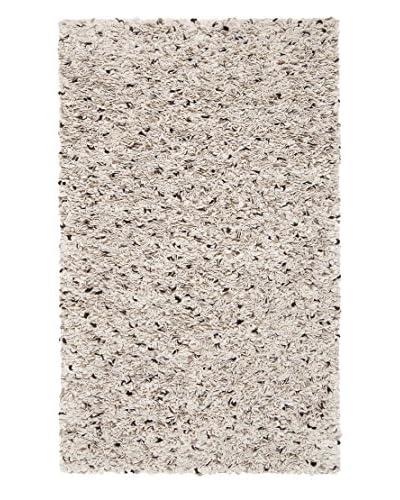 Surya Blossom Rug, Ivory/Chocolate/Taupe, 8' x 10'