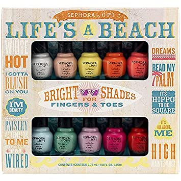 SEPHORA by OPI Life's A Beach Mini Kit at Amazon.com