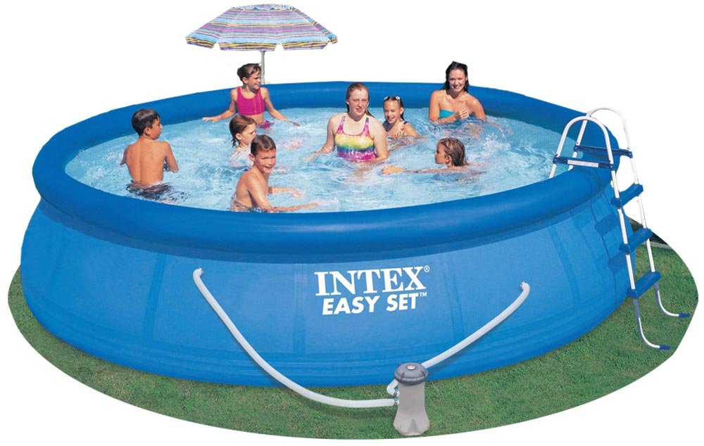 intex 54907eg easy set pool set consumer safari. Black Bedroom Furniture Sets. Home Design Ideas