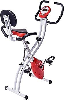 Merax Folding Adjustable Exercise Bike