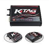 WA0066B OBD2 Manager Tuning Kit Master Version + KTAG V7.020 Car ECU Programmer Tool OBDII Adapter Car Diagnostic Tool(red) (Color: red)