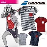 Babolat(バボラ)「Women's レディース ゲームシャツ BAB-1637W」テニスウェア「2016SS」 M WH