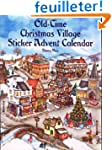 Old-Time Christmas Village Sticker Ad...