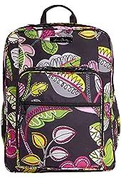 Vera Bradley Lighten Up Large Backpack (Moon Blooms)