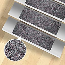 13 Stair Treads - Indoor and Outdoor Use - Peel and Stick - Pattern 6
