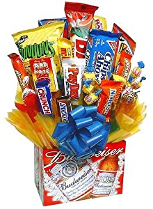 Amazon.com : Bud Bouquet - Snacks, chips, nuts, chocolate and candy