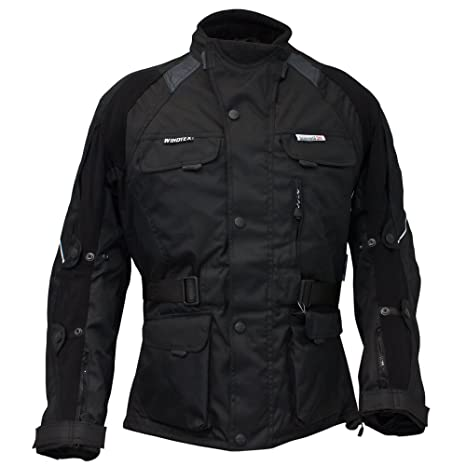 Roleff RO 520 Veste textile Orkan Noir