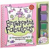 Klutz Fingerprint Fabulous: Create Sweet and Sparkly Thumbprint Art Craft Kit