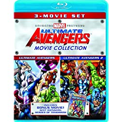 Ultimate Avengers Movie Collection (Ultimate Avengers / Ultimate Avengers 2 / New Avengers: Heroes of Tomorrow) [Blu-ray]