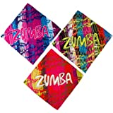 Zumba Fitness Cut It Out Pack de 3 foulards