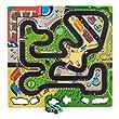 Sprogs - EVA Foam Race Track Preschool Puzzle Mat - 9 Pieces (Assembled - 36 1/4\
