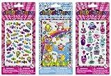 Candy, Perfume, Puffy House Chopstixers [3-Pack Bundle]: Fashion Angels Sticker Series